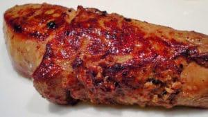 Recette de Foie gras poêlé aux poires