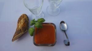 Recette de Gaspacho de tomate