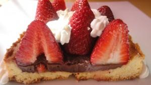 Recette de Tarte sablées aux fraises