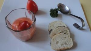 Recette de gaspacho à la tomate