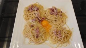 Recette de Spaghettis à la carbonara