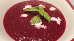 Recette de Soupe de betteraves rouges