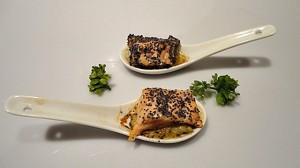 Recette de Cuillère de saumon