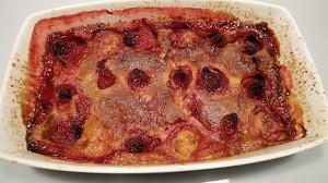 Recette de Clafoutis à la fraise
