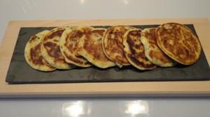 Recette de Ail des ours pancakes