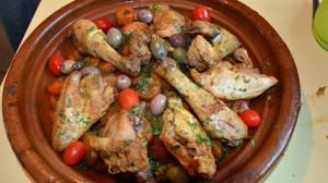 Recette de Tajine au poulet