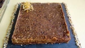 Recette de Tarte au chocolat et noisettes