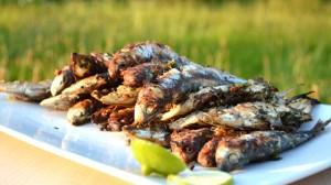 Recette de Sardines grillées