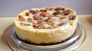 Recette de Cheesecake aux pommes