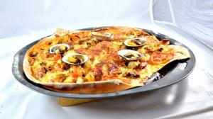 Recette de Pizza aux fruits de mer