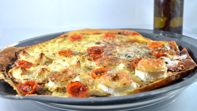Recette de Pizza fromages