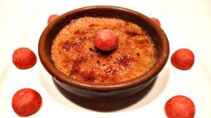 Recette de Crème brulée aux fraises Tagata