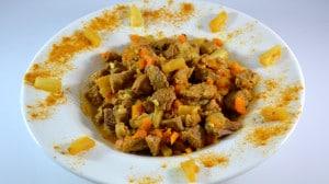 Recette de Curry de porc