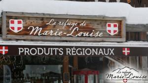 Le refuge de Marie Louise L'extérieur