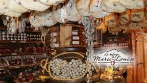 Le refuge de Marie Louise Les jambons secs