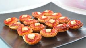 Feuilletés tomate et feta Terminer