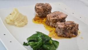 Recette de Filet mignon flambé à l'Armagnac
