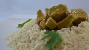 Recette de Curry de porc aux champignons