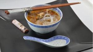 Recette de Soupe thaï au poulet