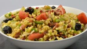 Recette de Salade de coquillettes