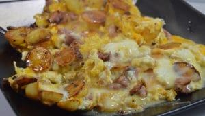 Recette de Omelette à la cancoillotte
