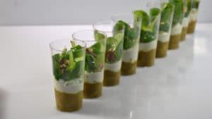 Recette de Verrines d'asperges au Roquefort
